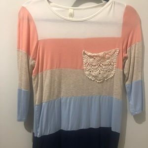 12PMbyMonAmi colourblock top from Pulse Boutique